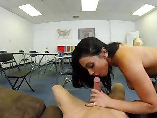 Audrey Bitoni and her favorite student POV