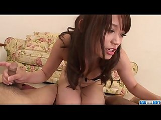 Serious blowjob in POV by nasty�Banana Asada