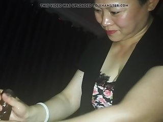Chinese milking Indian desi cock massage with cum - Part 1
