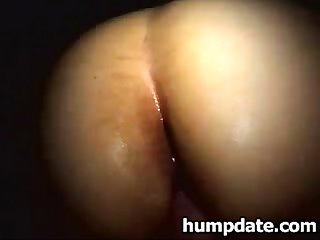 Girlfriend with huge round butt gets fucked