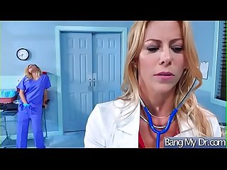 Superb Patient (Alexis Fawx & Marsha May) Get Seduced By Doctor And Nailed video-01